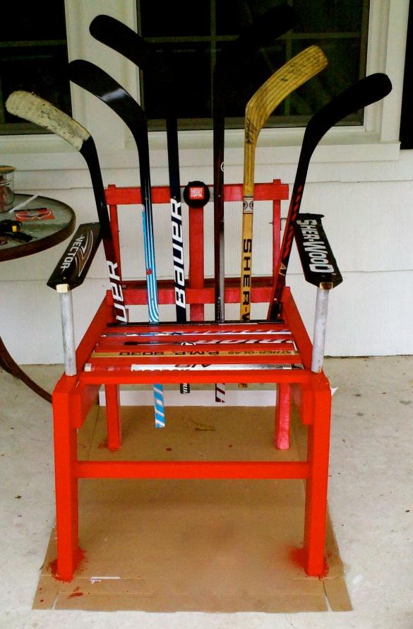 Diy hockey stick furniture plans wooden pdf tree stand for Stick furniture plans